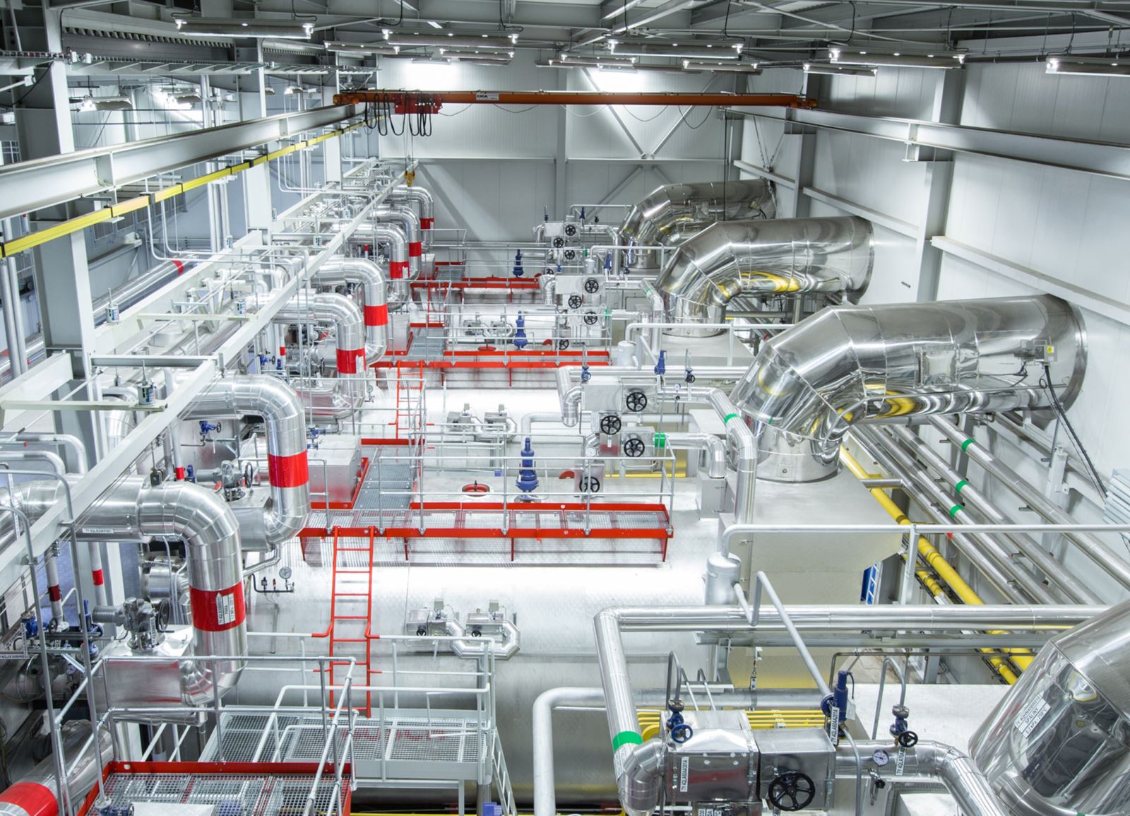 Bosch Boilers At Ledvice Power Plant 167 Tons Of Superheated Steam ...