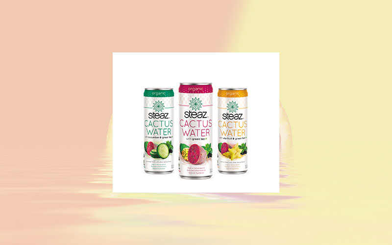 Steaz Introduces Cactus Water: A New Functional And Flavorful Beverage Line