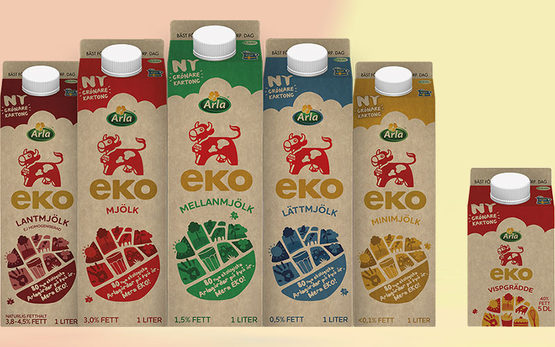 Elopak launches Pure-Pak® cartons with the new paperboard Natura Life™ by Stora Enso