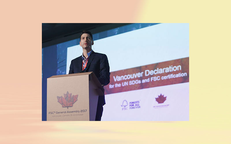 SIG presents the Vancouver Declaration: FSC and partners unveil ambitious sustainability commitment
