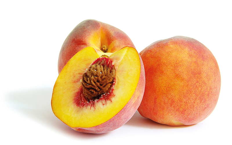 Fresh peach fruits (Photo: TOMRA)