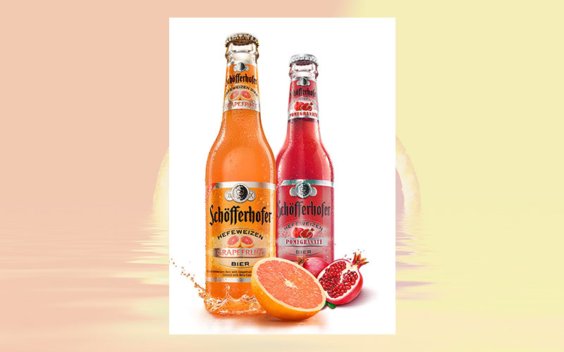 Radeberger Gruppe USA introduces Schofferhofer Pomegranate - The World's first Hefeweizen pomegranate beer