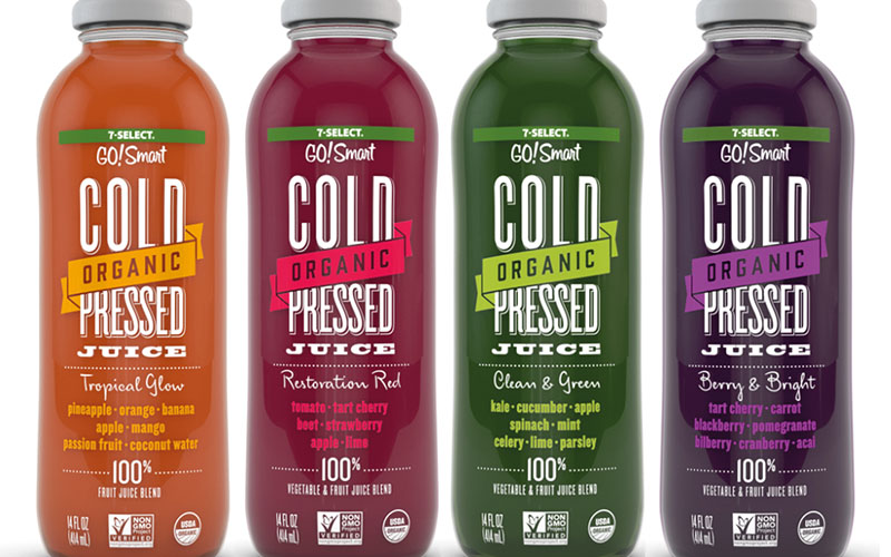 7-Eleven Juices up Vault with first USDA Organic, Cold-Pressed Offerings