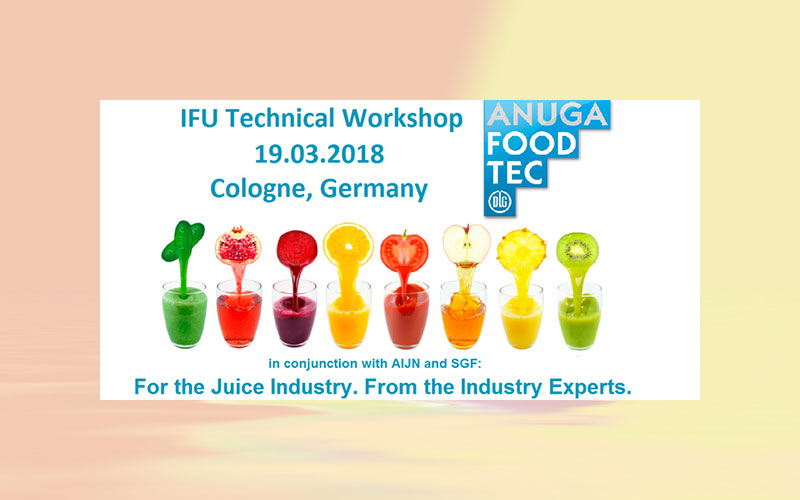 IFU Technical Workshop 2018 in Cologne, Germany