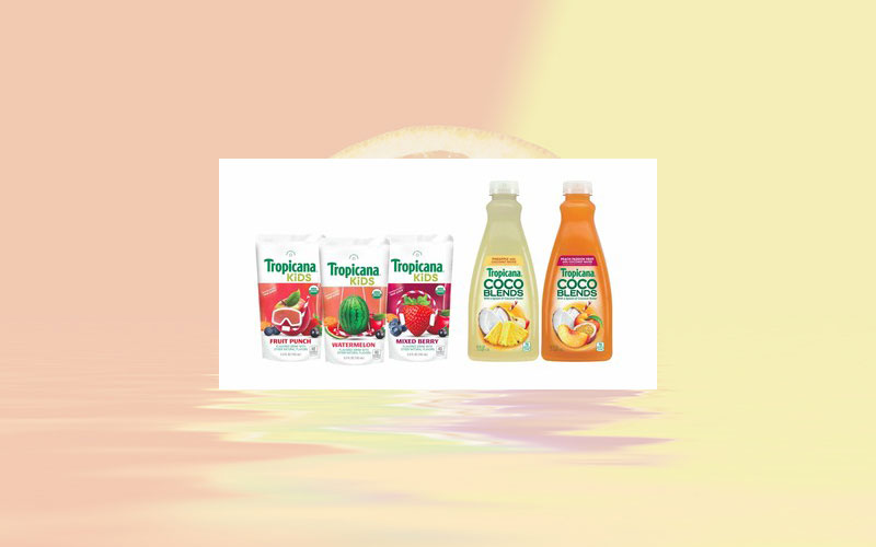 Tropicana unveils new juice innovations to meet consumer demand