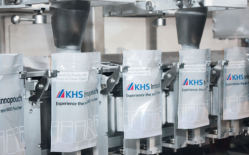 The KHS Innopouch Bartelt<sup>®</sup> K series concept: flexible systems for pouch packaging