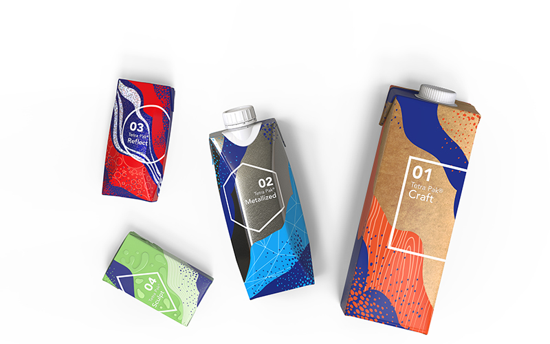 Tetra Pak launches new packaging material effects to help brands attract shoppers' attention