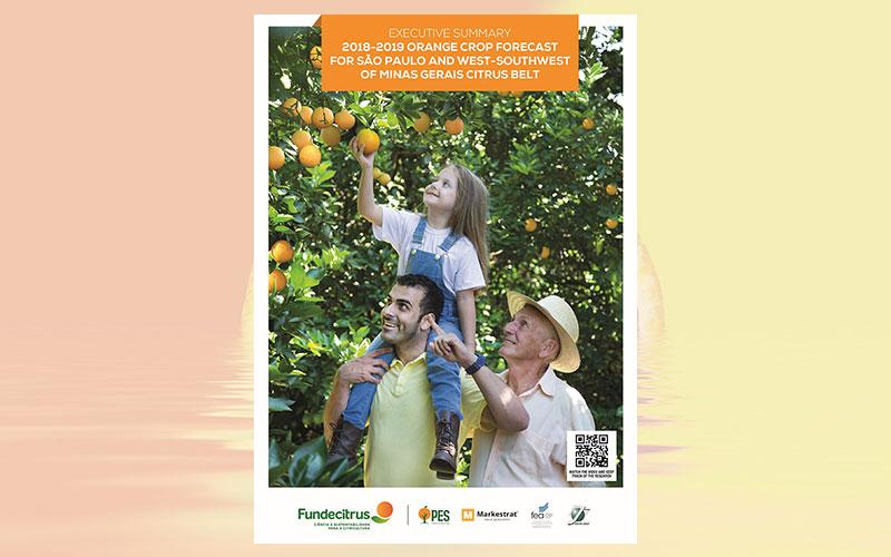 2018/2019 Orange Crop Forecast for São Paulo and West-Southwest of Minas Gerais Citrus Belt