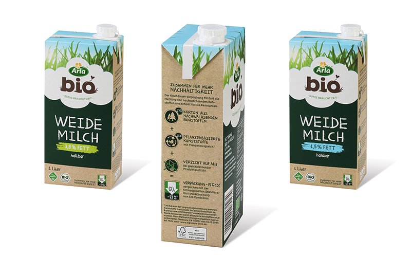 Arla Foods is the first to choose SIG's innovative SIGNATURE PACK