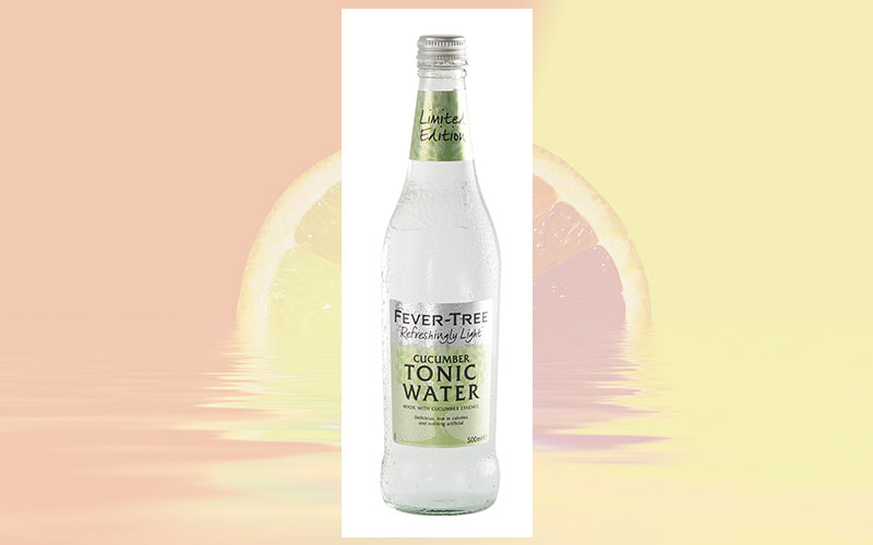 Fever-Tree launched limited-edition Cucumber Tonic Water