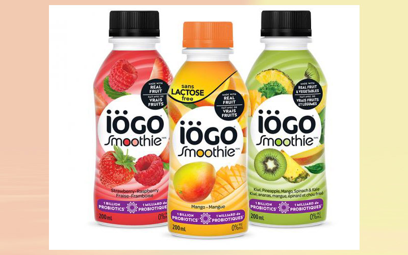 Agropur to launch probiotic iögo smoothies for the morning rush