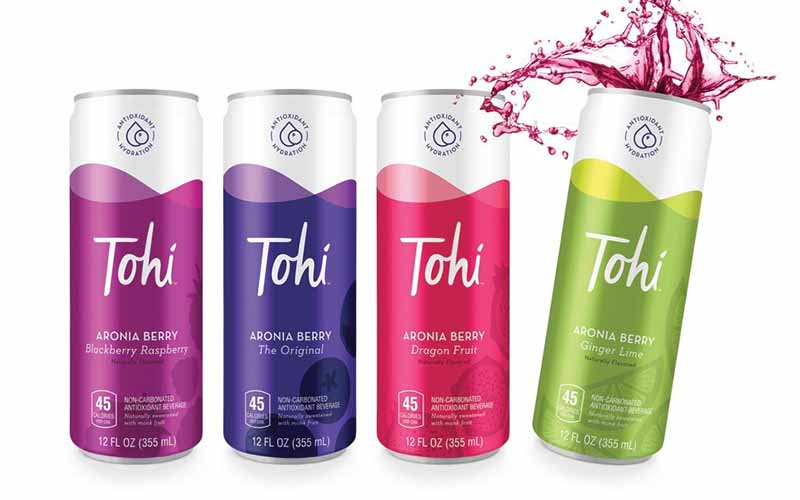 Tohi Ventures launches new antioxidant-rich Aronia Berry beverages
