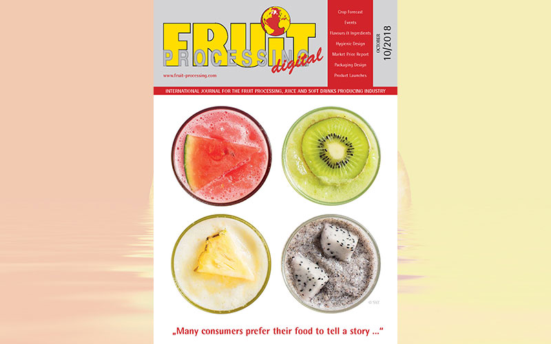 FRUIT PROCESSING 10/2018 is available!