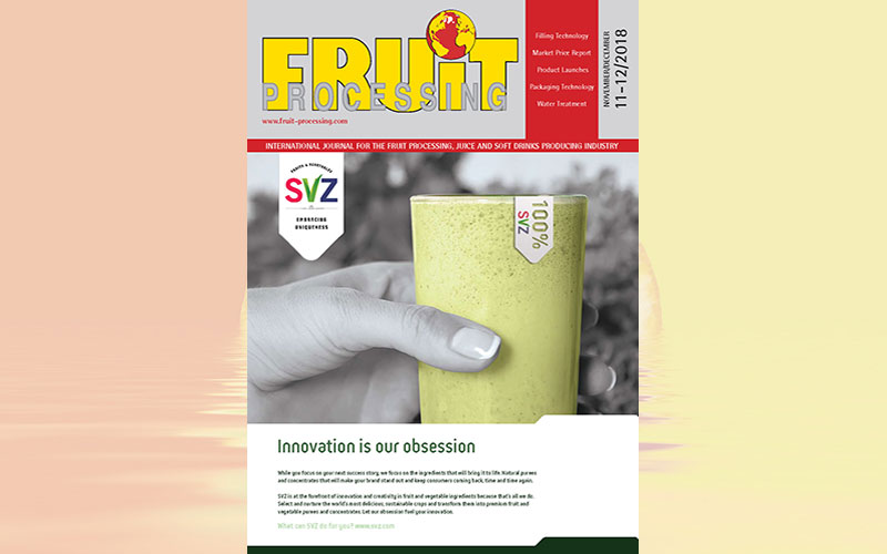 FRUIT PROCESSING 11+12/2018 is available!