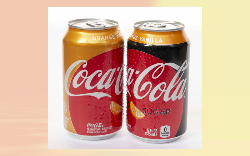 Introducing Orange Vanilla Coke and Orange Vanilla Coke Zero Sugar