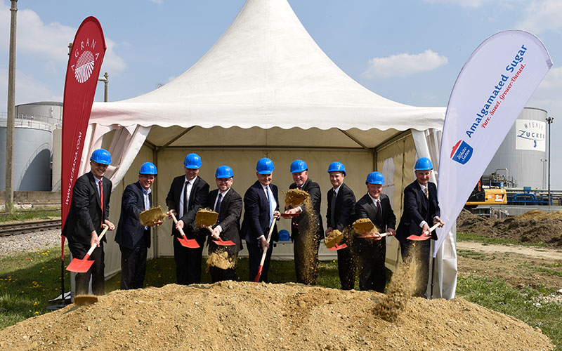 Ground-breaking ceremony for Eur 40 Million betaine plant at Tullin sugar refinery