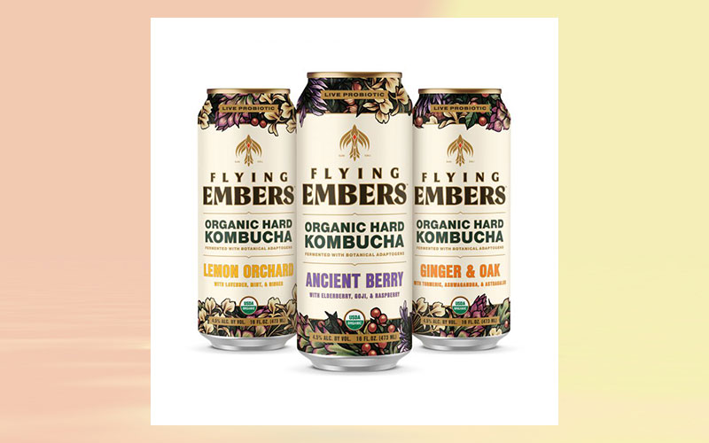Flying Embers hard kombucha expands distribution across US