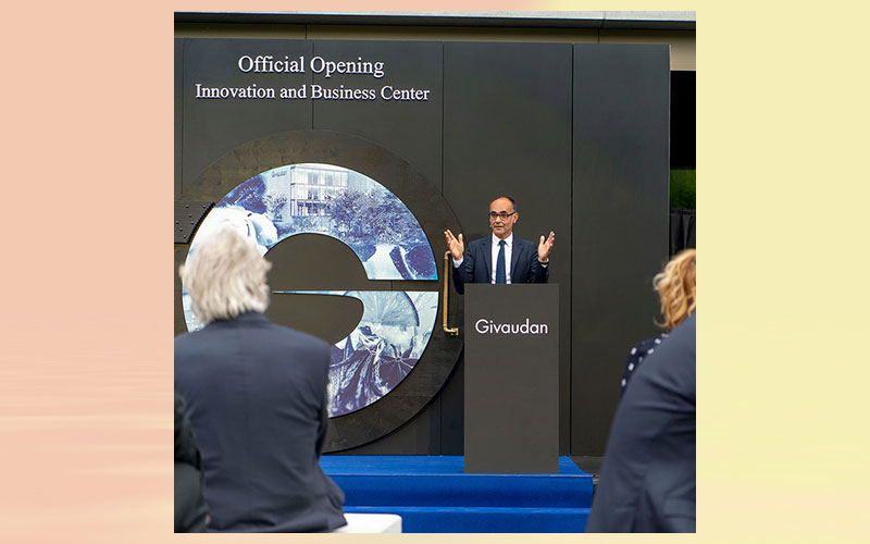 Givaudan strengthens global innovation ecosystem with opening of new flagship Innovation Centre in Switzerland