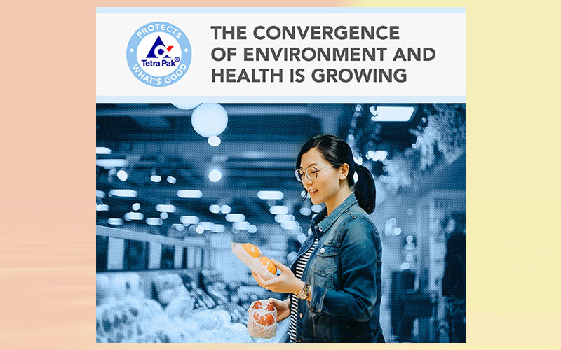 Tetra Pak researches the convergence of environment and health with global study