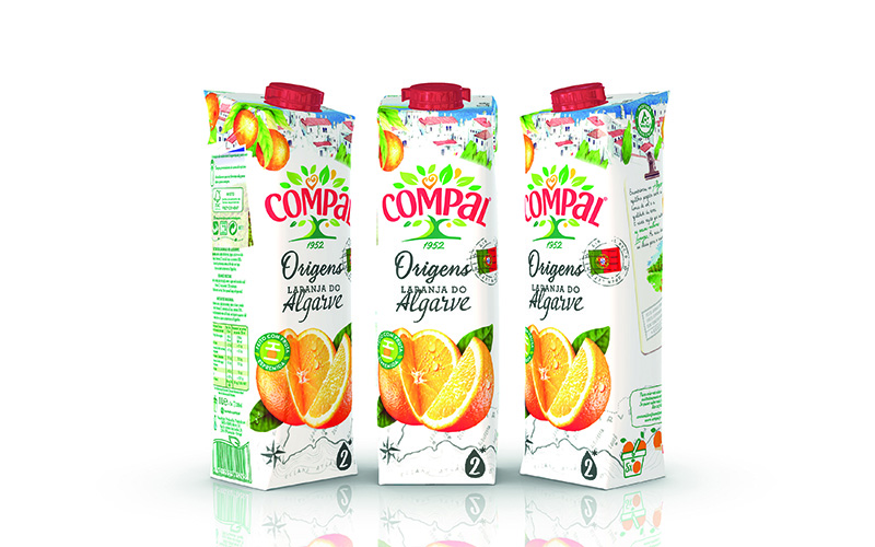 Sumol+Compal rejuvenates product range and attracts shoppers' attention with new Tetra SteloTM Aseptic carton package