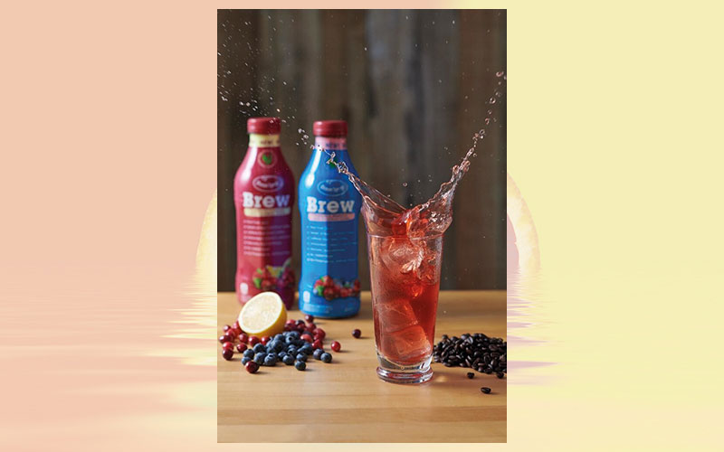 Ocean Spray Launches Brew, a Superfruit Juice with Cold Brew Coffee