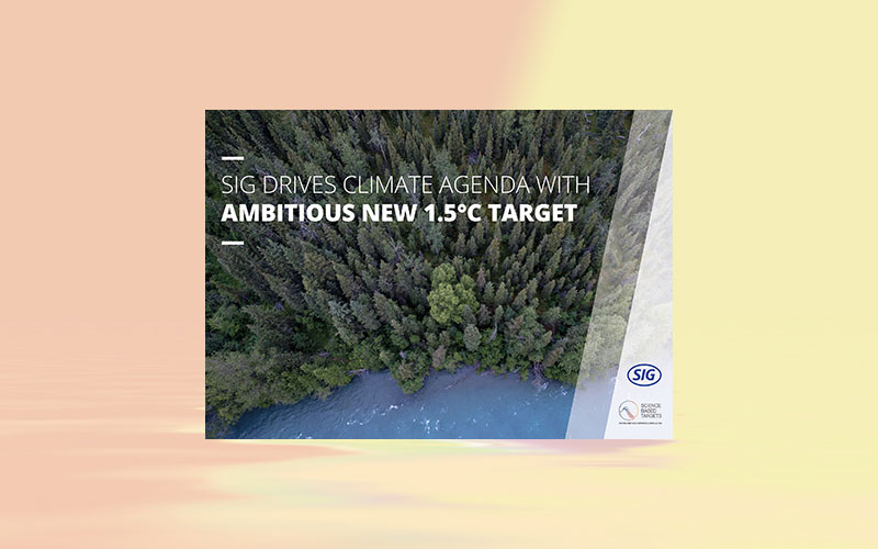 SIG drives climate agenda with ambitious new 1.5°C target