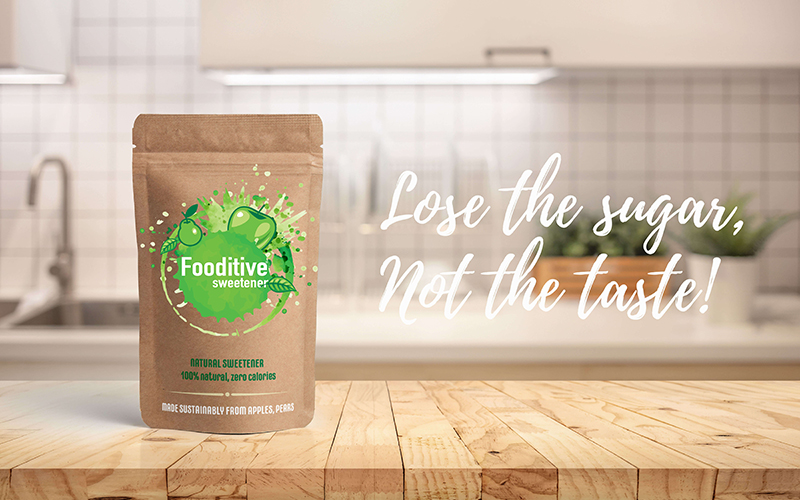 The sugar substitute market is in for a treat: Fooditive launches new, healthy and sustainable sweetener