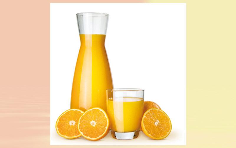 Fruit Juice Including 100 Orange Juice Not Associated With