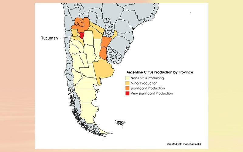Argentina citrus annual
