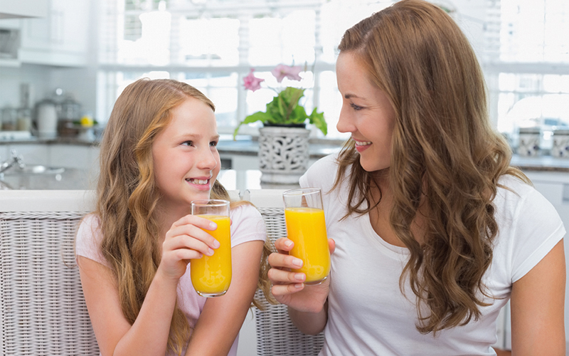 Whole fruit consumption up in children but 100 % OJ may play a role in addressing remaining nutrient shortfalls, new study shows