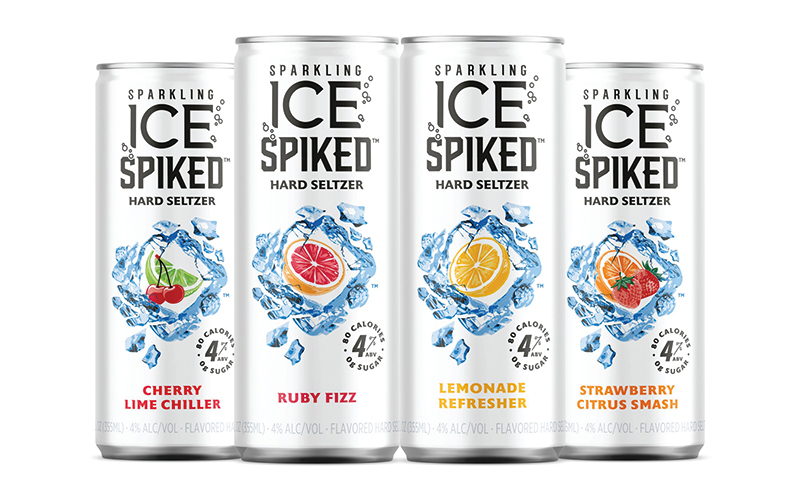 Sparkling Ice Spiked™ makes waves in the beverage world with new hard seltzer
