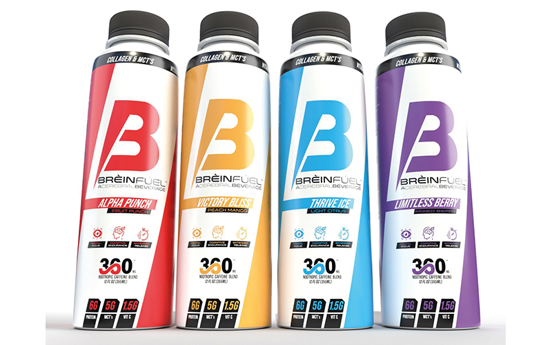 Launch of BRÈINFÚEL ignites functional beverage category with high-performance nootropic beverage