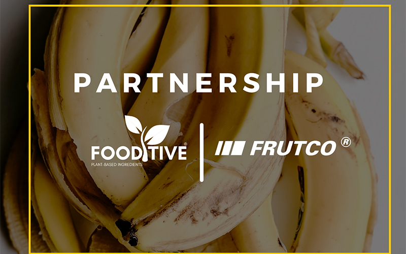 A new partnership between Fooditive and Frutco brings a sustainable banana sweetener to the market