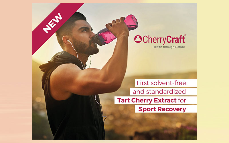 IPRONA launches world's first standardised, solvent-free tart cherry extract