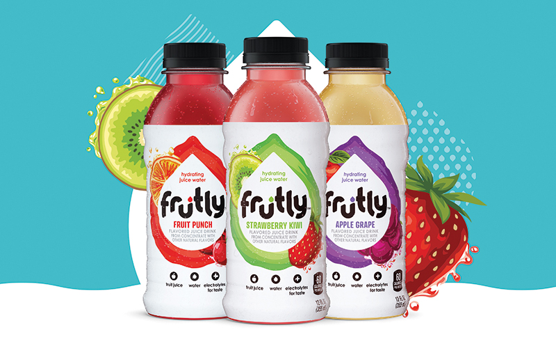 PepsiCo launches Frutly, a new hydrating juice water