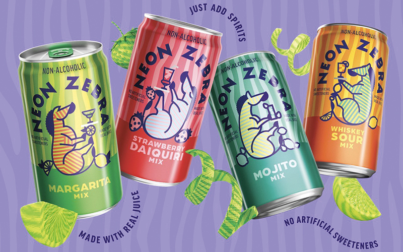 PepsiCo's latest innovation Neon Zebra™ is primed to disrupt the cocktail mixer category