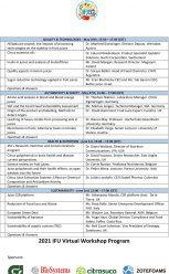 International Fruit and Vegetable Juice Association (IFU): Technical Webinars 2021
