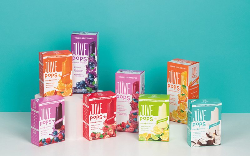 Yasso, Inc. pioneers functional, frozen refreshment with the launch of first incubator brand, Jüve Pops