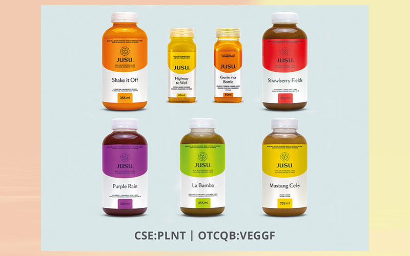 Better Plant launches 7 new Jusu cold-pressed juices