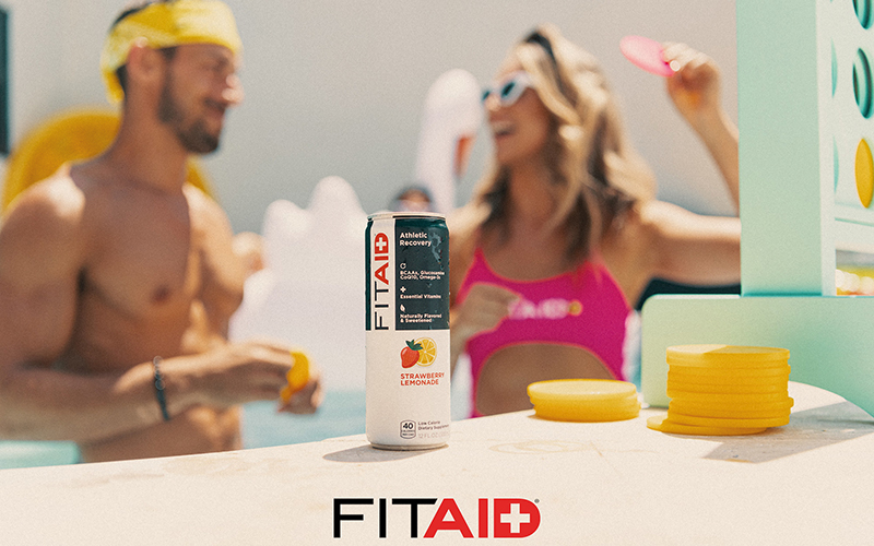 LIFEAID launches FITAID Strawberry Lemonade for summer