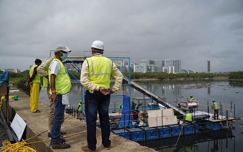 Huhtamaki partners with RiverRecycle and VTT to develop technology to tackle floating river waste