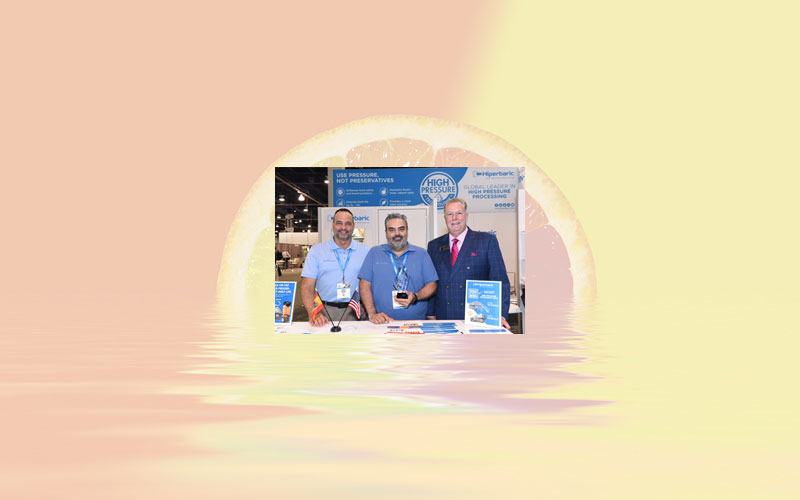 Hiperbaric wins PMMI Technology Excellence Award for HPP In-Bulk technology